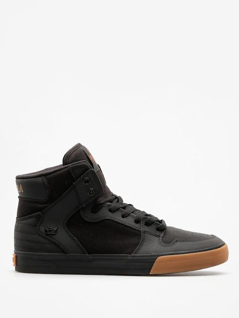 Supra Shoes Vaider (black/black gum)