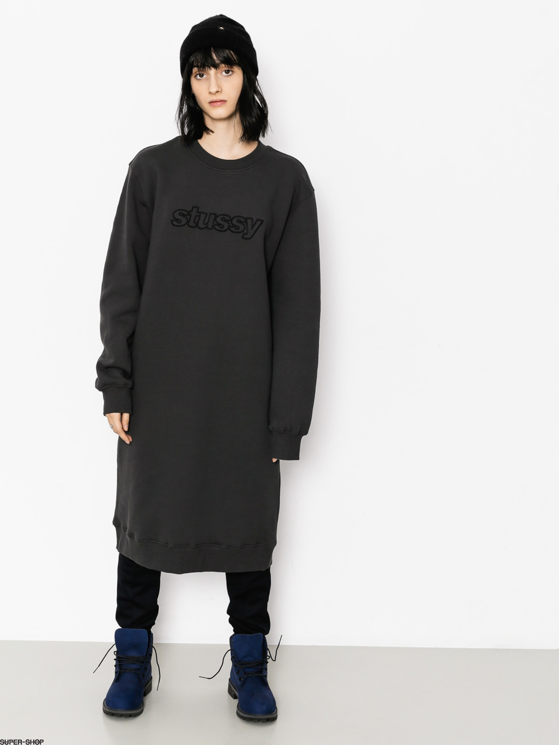 Stussy Kleid Archers Fleece Wmn (black)