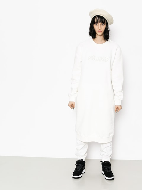 Stussy Kleid Archers Fleece Wmn (off white)