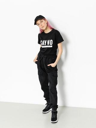 Diamante Wear T-Shirt Say No Wmn (black)