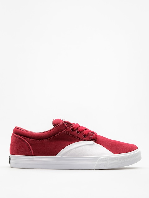 Supra Shoes Chino (dark ruby white)