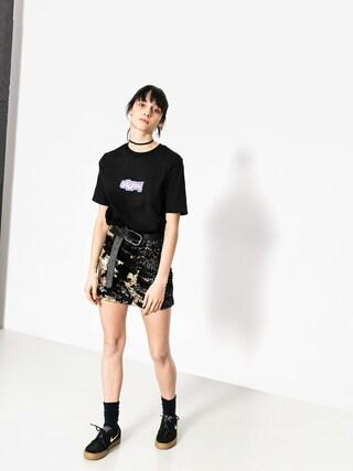 Stussy T-shirt Drop U Wmn (black)