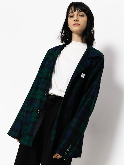 The Hive Jacke Terry Wmn (green/blue)