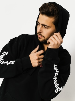 Skate Mental Hoodie Trendy Logo HD (black)
