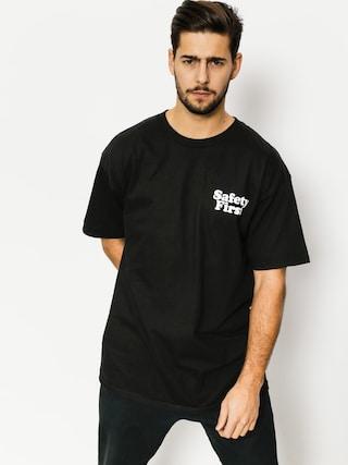 Skate Mental T-shirt Safety First (black)