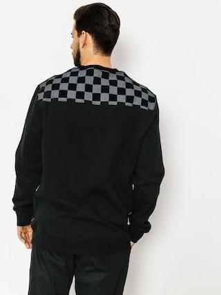 HUF Sweatshirt Blackout Crew (black)