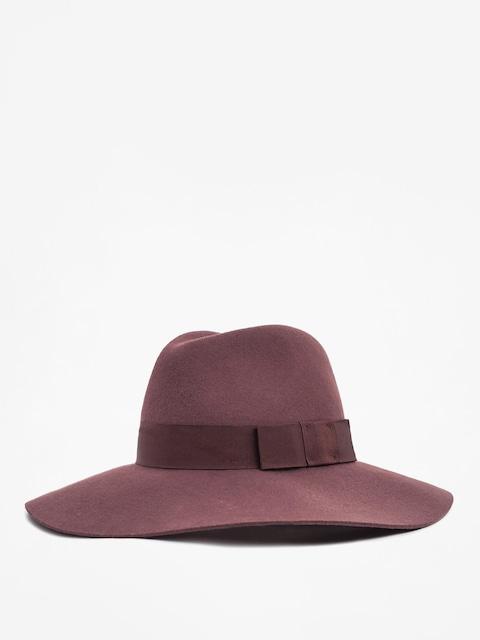 Brixton Hut Piper Hat Wmn (maroon)