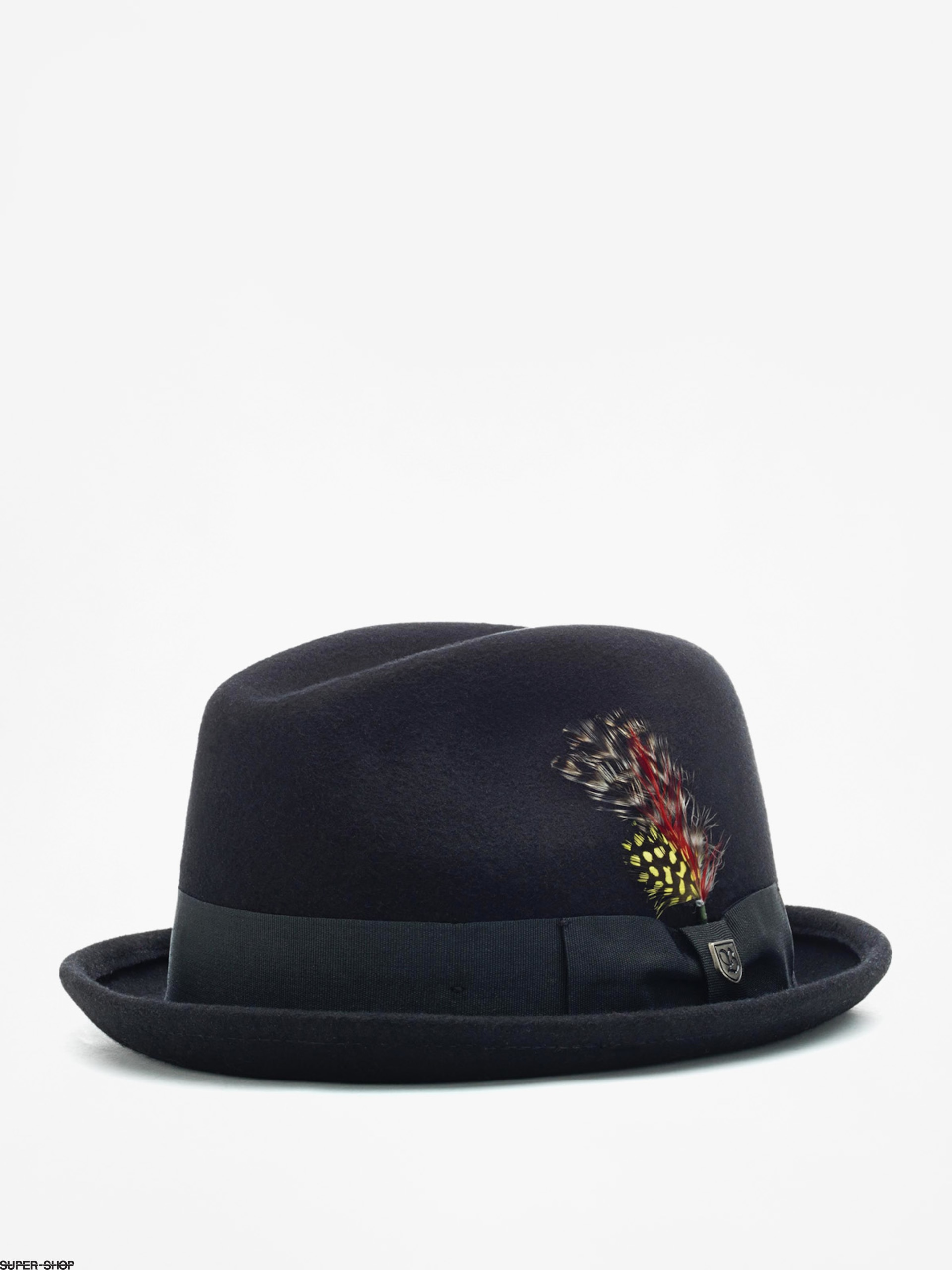 Brixton Hat Gain Fedora (black)