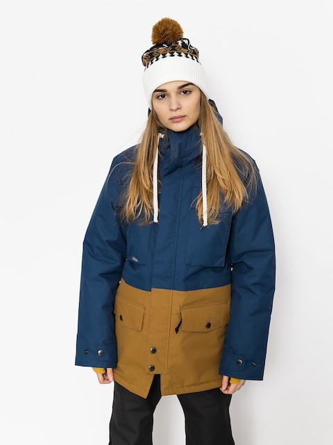 Airblaster Snowboard jacket Wms Freedom Parka Wmn (navy camel)
