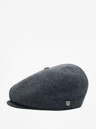 Brixton Flat cap Brood Snap ZD (grey/black)