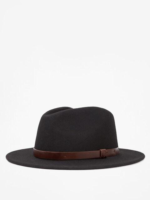 Brixton Hut Messer Fedora (black)