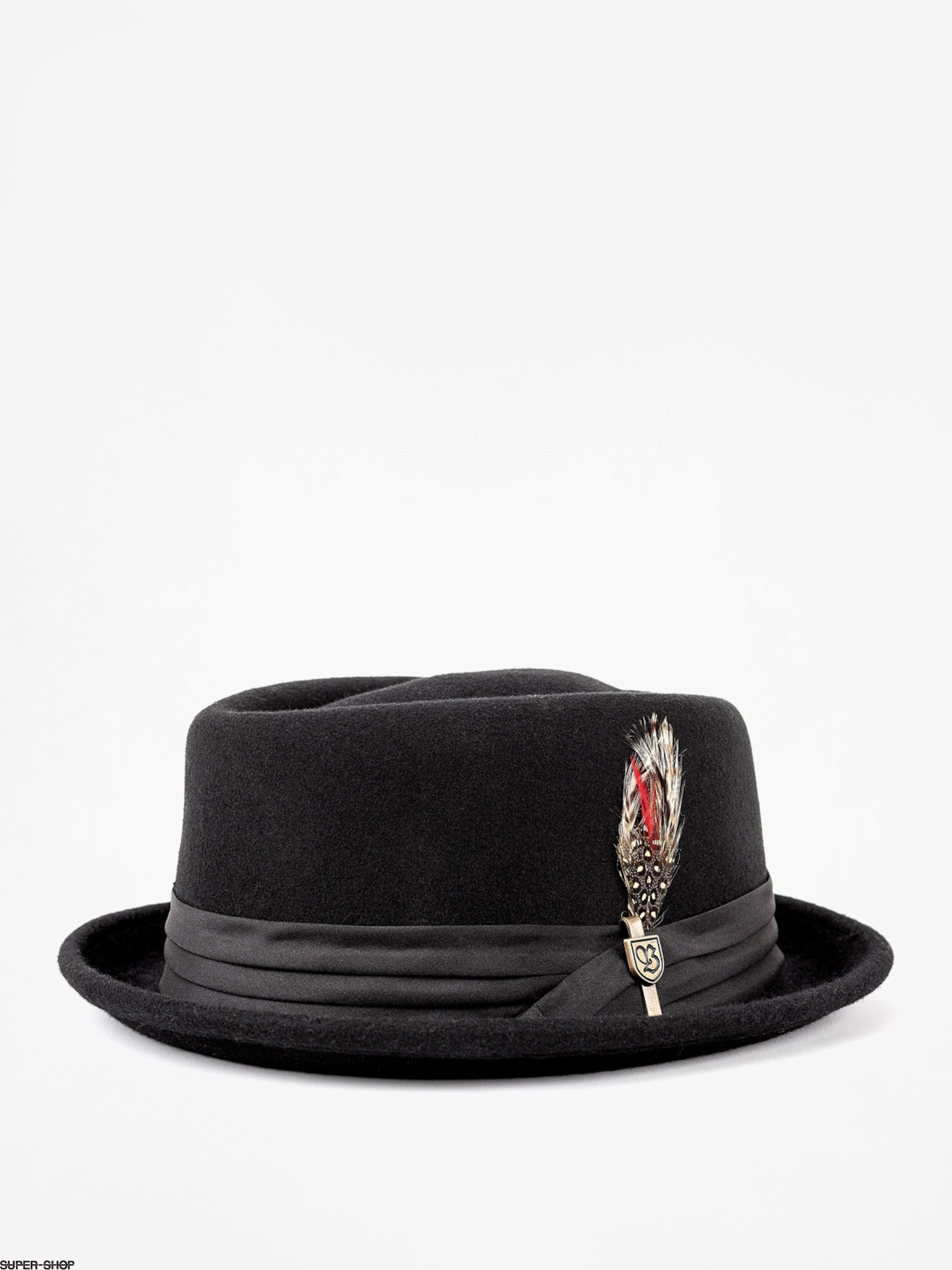 Brixton Hat Stout Pork Pie (black/black)