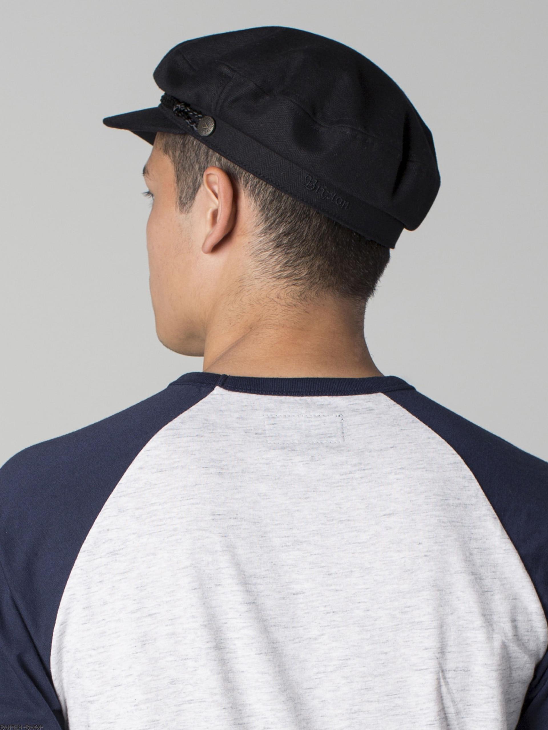 Brixton Flat cap Fiddler ZD (black) 29423b31fbdf