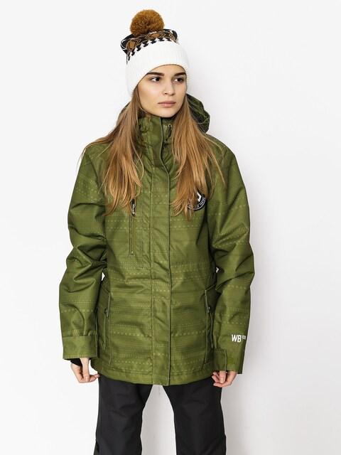 Westbeach Snowboardjacke Crush Jacket Wmn (combat green fairisle)
