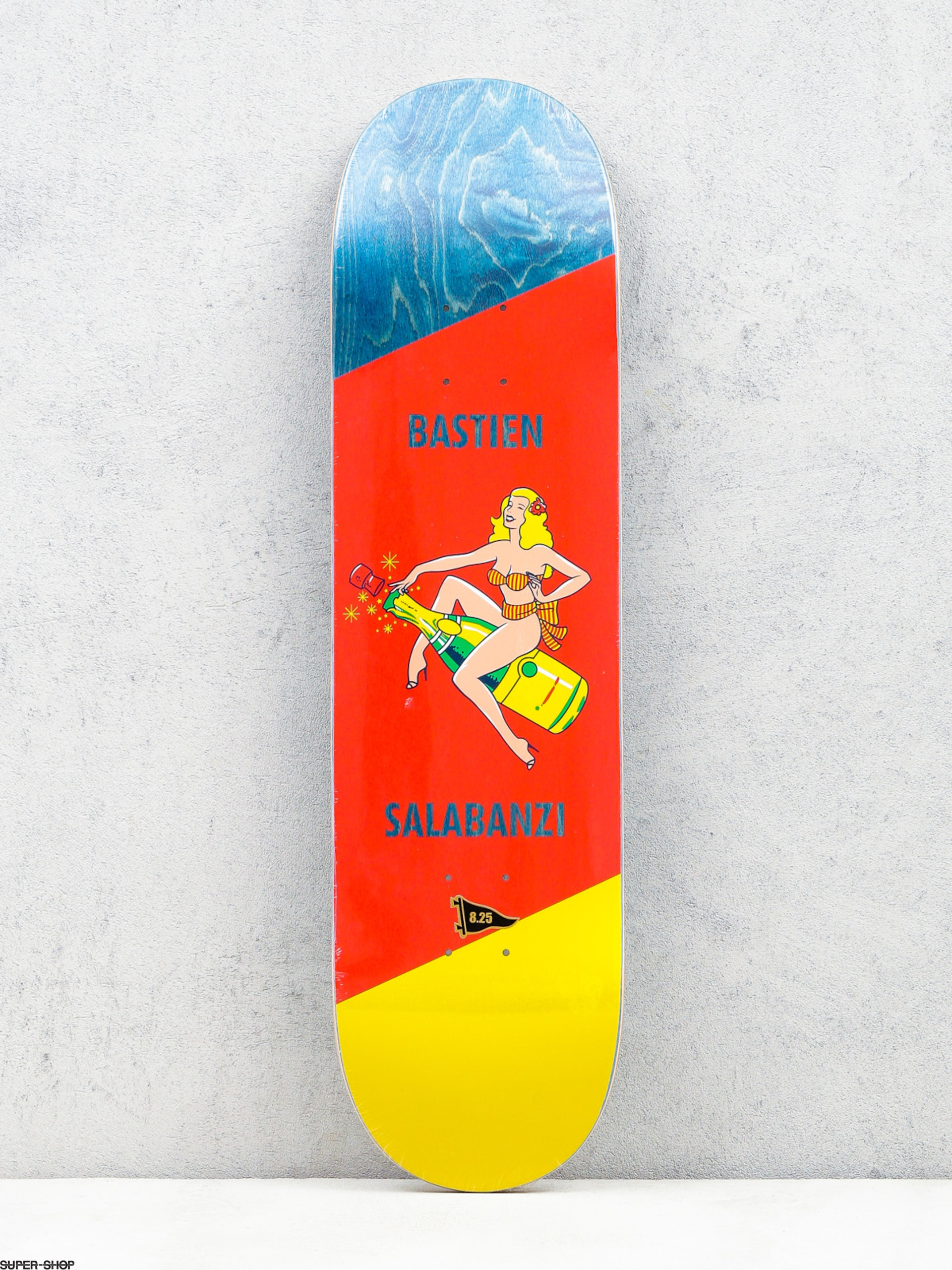 Primitive Deck Salabanzi Pin Up (bottle/red/yellow)