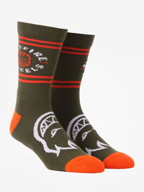Spitfire Socken Classic Bh (olive/orange/white)