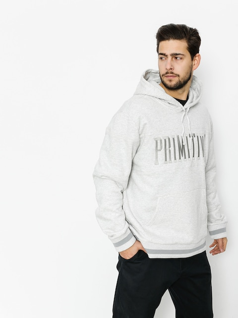 Primitive Hoody Paneled HD (ice heather)