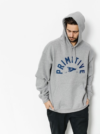 Primitive Hoodie Big Arch Pennant HD (grey heather)