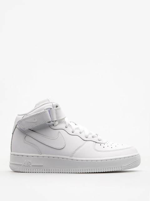 Nike Schuhe Air Force 1 Mid Gs Basketball (white/white)