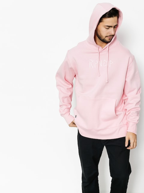 RipNDip Hoodie Logo Embroidered HD (pink)