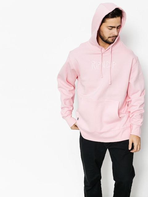 RipNDip Hoody Logo Embroidered HD (pink)