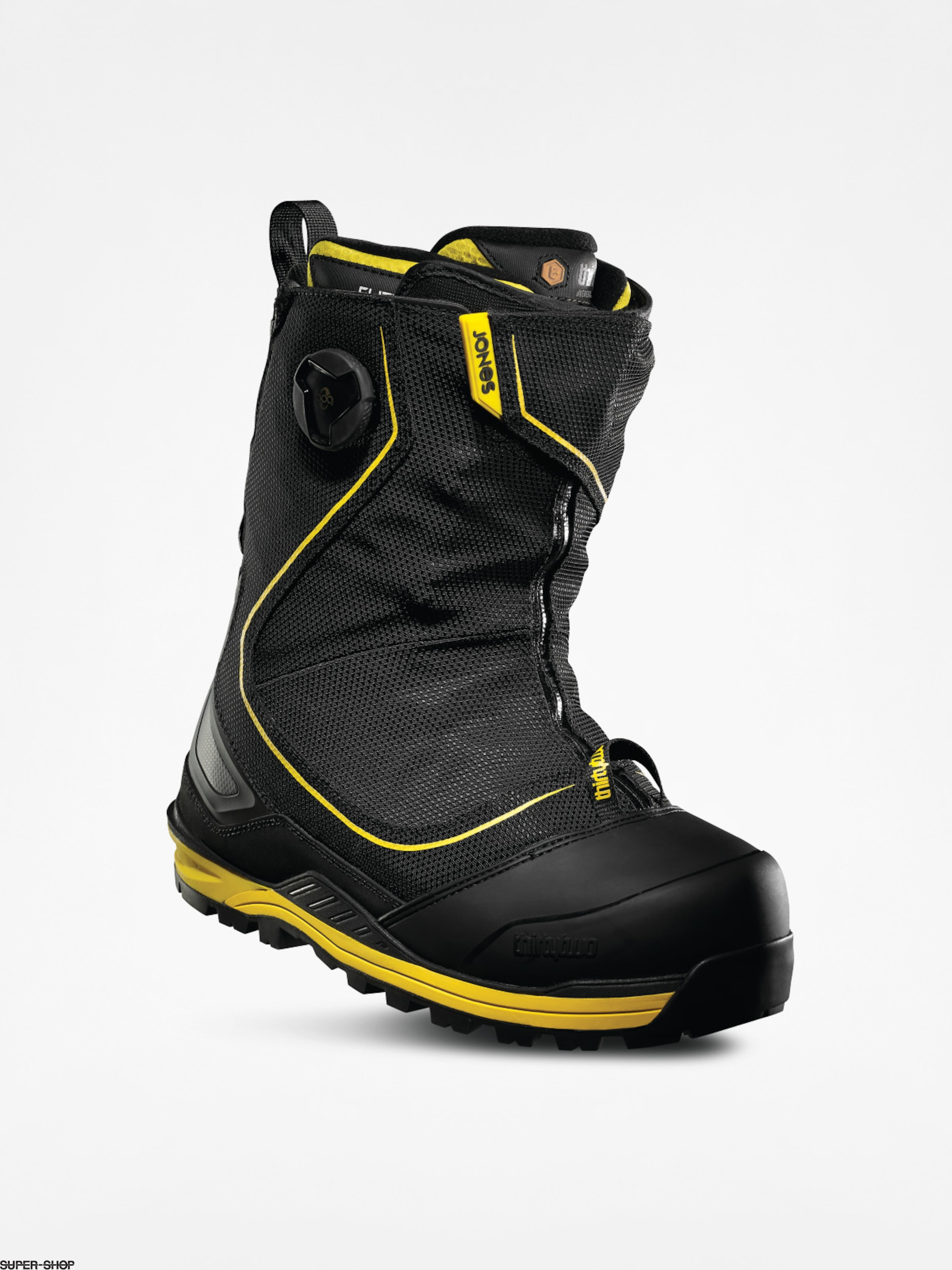 ThirtyTwo Snowboard boots Jones Mtb (black/yellow)