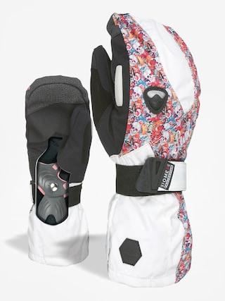 Level Gloves Butterfly Mitt Wmn (white red)