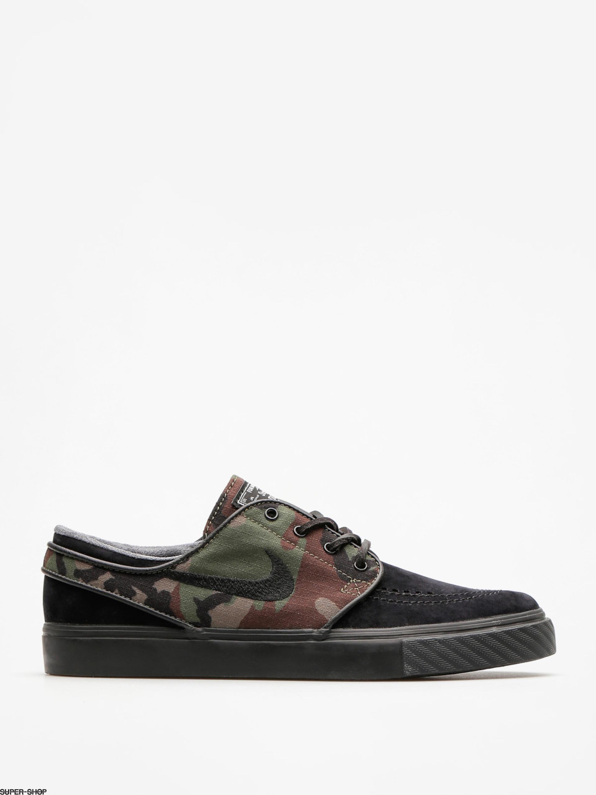 3aca2d2195ec Nike SB Schuhe Air Zoom Stefan Janoski Og (black black medium olive white)
