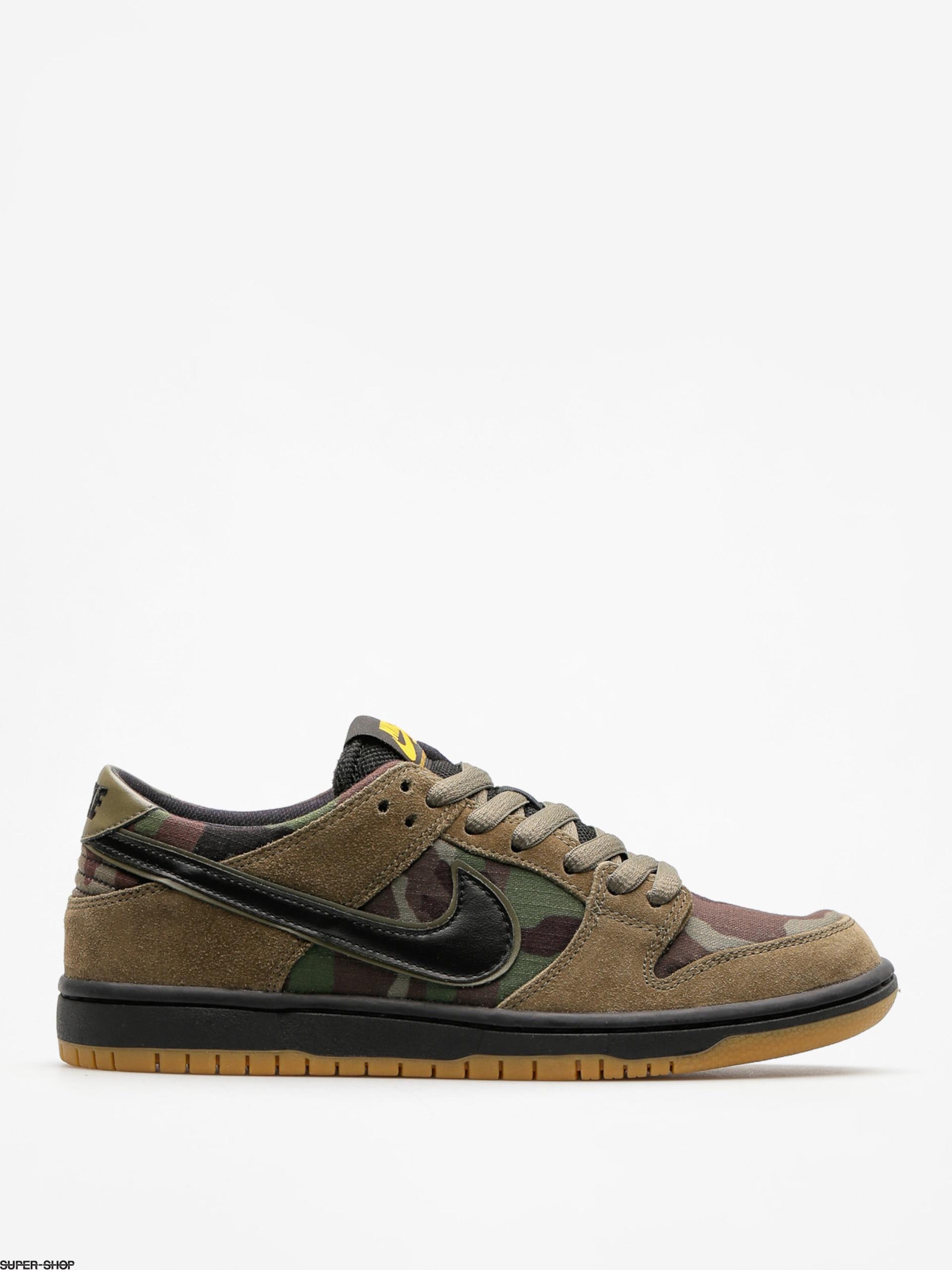 sneakers for cheap b52b7 5b1d7 ... usa nike sb shoes zoom dunk low pro medium olive black gum light brown  4bb3e 51d43