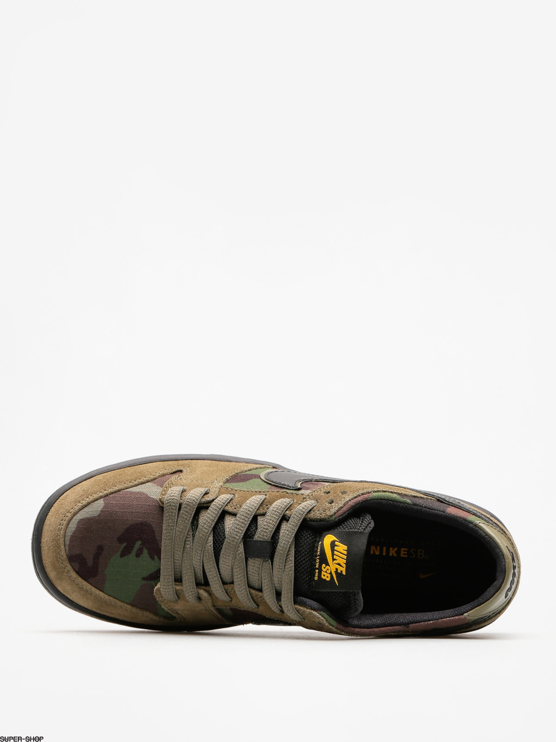 super popular 28a63 4628d Nike SB Shoes Zoom Dunk Low Pro (medium oliveblack gum light