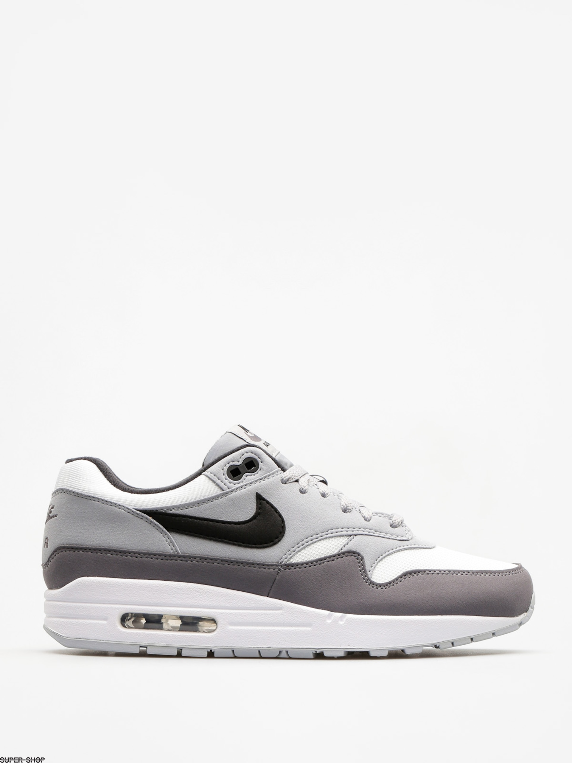 Nike Schuhe Air Max 1 (white/black wolf grey gunsmoke)