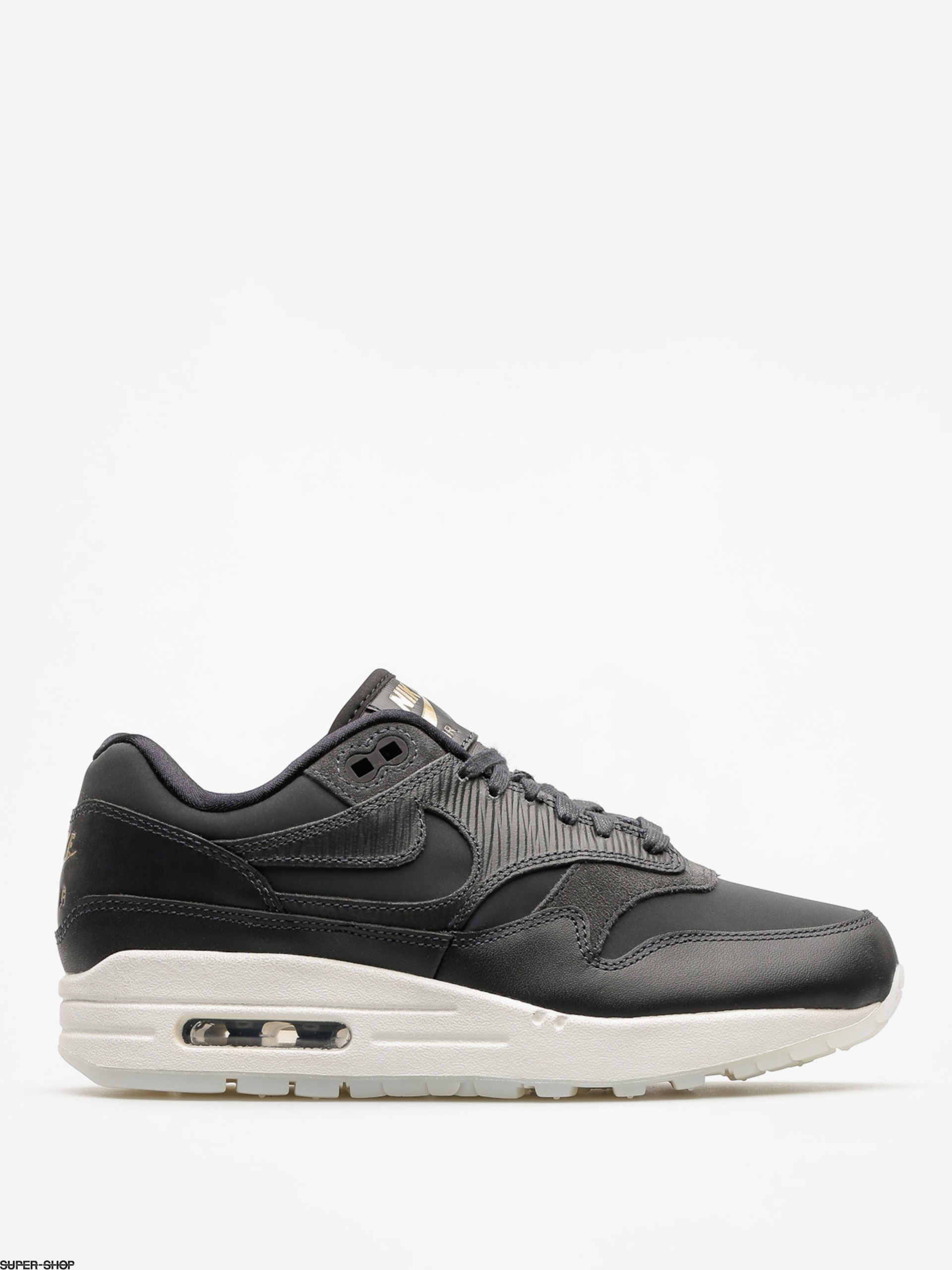 Nike Schuhe Air Max 1 Premium Wmn (anthracite/anthracite black summit white)