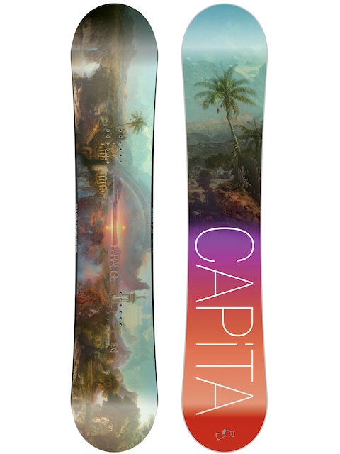Capita Snowboard Paradise Wmn (teal/black/purple/red)