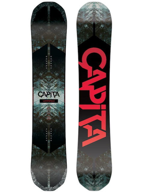Capita Snowboard Warpspeed (white/black/red)