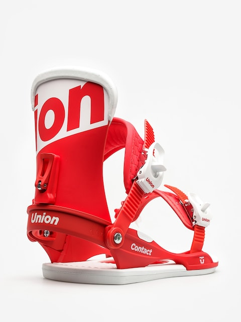Union Snowboard bindings Contact (red)