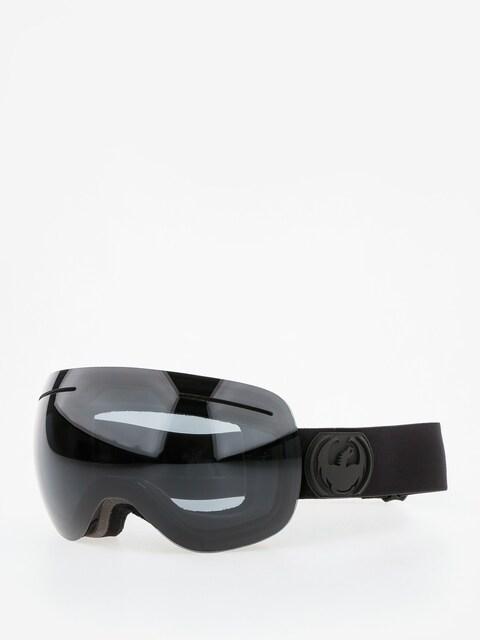 Dragon Goggle X1 (knight rider/dark smoke/l flash blue l rose)