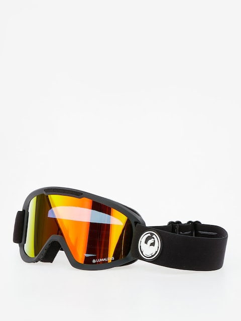 Dragon Goggles DX2 (black/lumalens red ion/l rose)