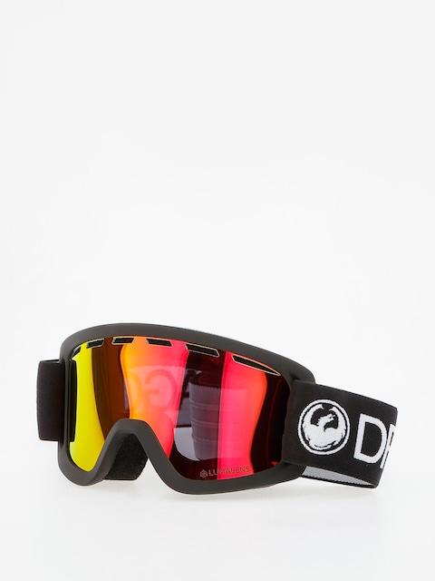 Dragon Goggle Lil D (black/lumalens red ion)