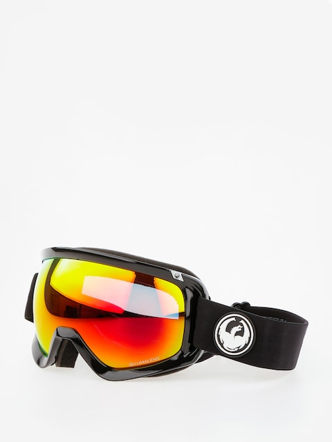 Dragon Goggles D3 (black/lumalens red ion/l rose)