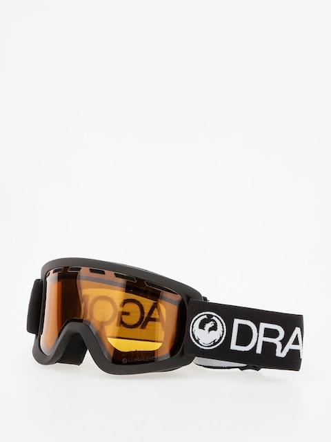 Dragon Goggles Lil D (black/lumalens amber)