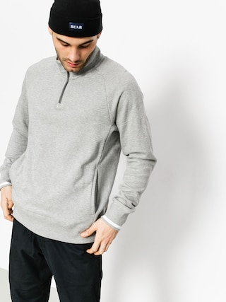 Nike SB Longsleeve Top Evrt Mock Hz (dk grey heather/white/dark steel grey)