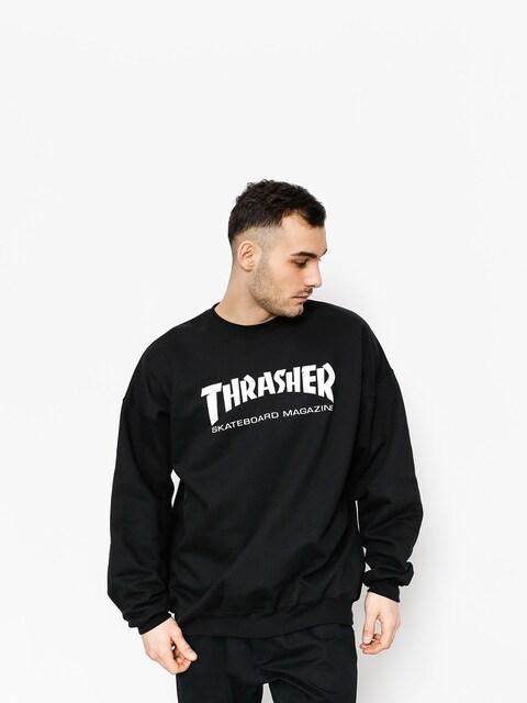 Thrasher Sweatshirt Skate Mag Crew (black)