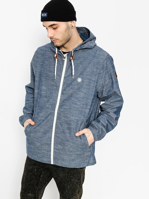 Element Jacke Alder (blue chambray)