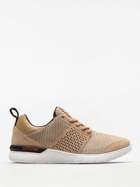 Supra Shoes Scissor (khaki/white)