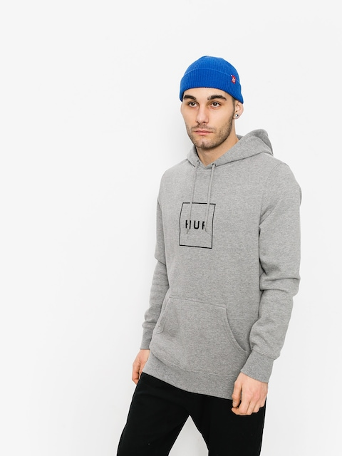 HUF Hoody Box Logo HD (grey)