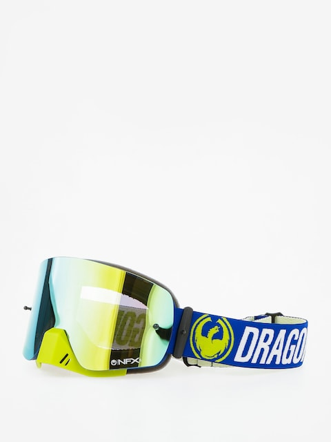 Dragon Motocross Goggle NFXs (flash blue/smoked gold/clear)
