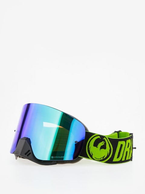 Dragon NFX Cross goggles (factory/lumalens green ion/clear)