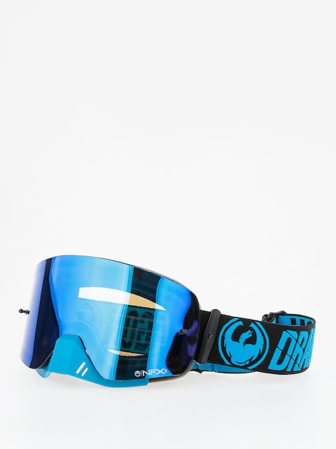 Dragon Cross goggles NFXs (merge blue/blue steel clear)