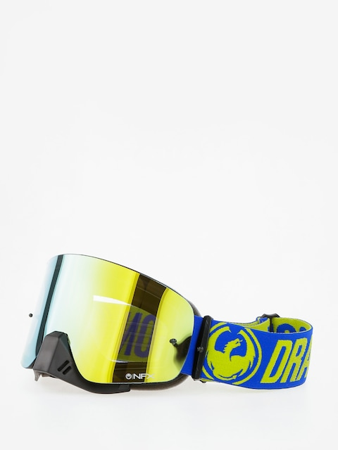 Dragon Cross goggles NFX (break highvis/smoke gold cle)