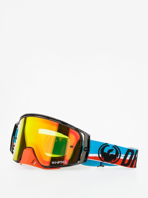 Dragon Cross goggles NFX2 (shot injected yellow red ion)